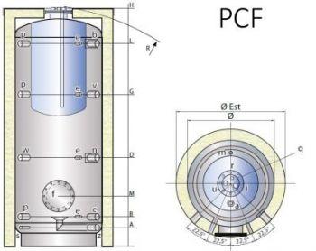 TIPEX TXE 2000 PCF včetně izolace
