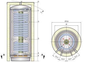 Stratifikační nádrž SM1X