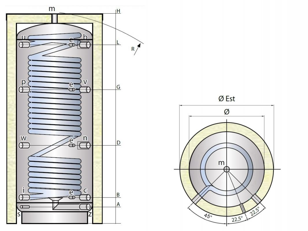 Ohřívač MX0W