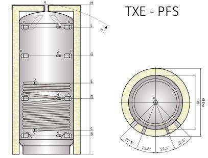 Tipex TXE PFS