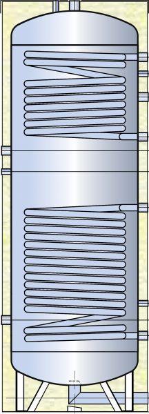 Nerezový ohřívač TIPEX TX-D