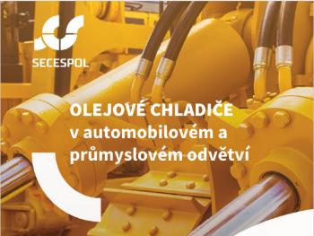 Olejové chladiče v automobilovém a průmyslovém odvětví